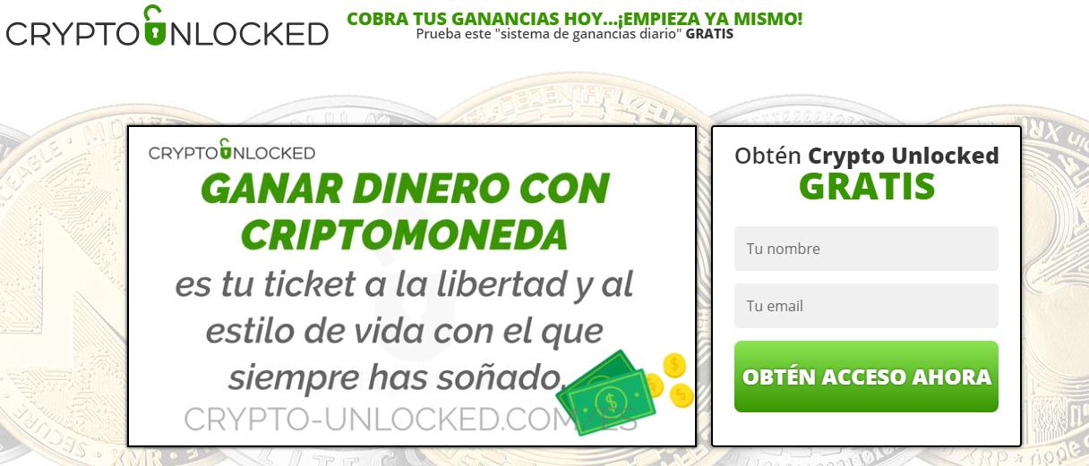 Crypto Unlocked es estafa