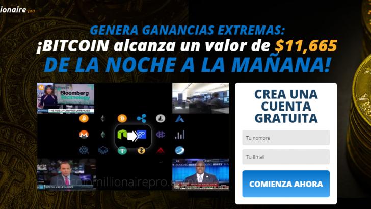 Bitcoin Millionaire Pro es ESTAFA! – ¡OPINIONES REALES!