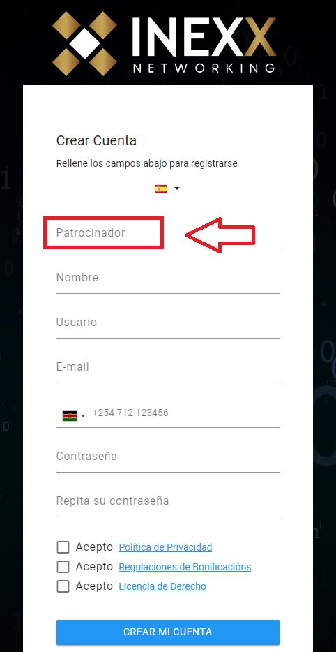 inexx networking login