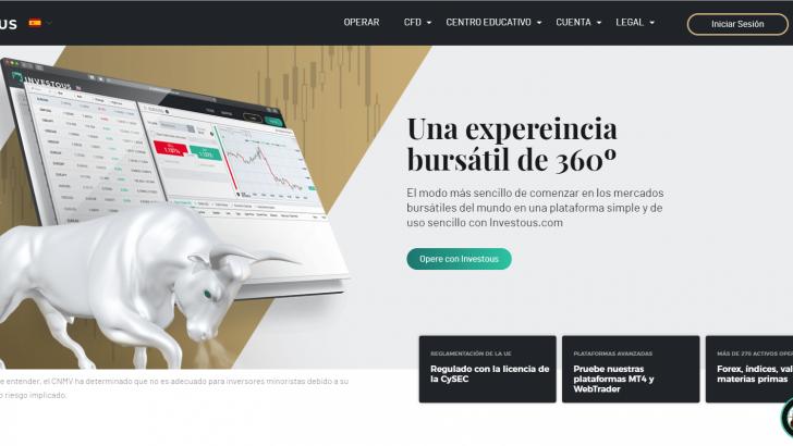 "Investous Broker : ""Una experiencia bursátil de 360º"""