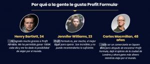 opiniones profit formula